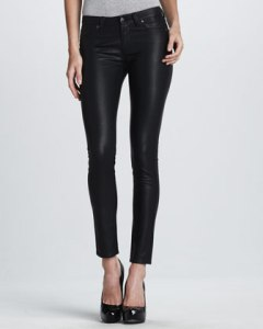 Blank Feaux Leather Leggings
