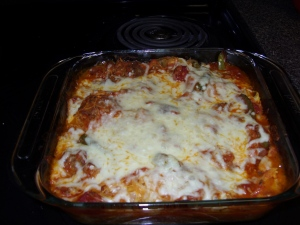Italian Sausage Spaghetti Squash 007