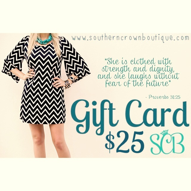 Southern Crown Boutique Gift Card